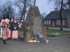 Uždegtos žvakelės žuvusiems sausio 13-ąja